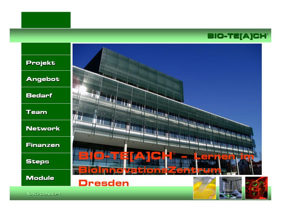 BIO-TE[A]CH® – Lernen im BioInnovationsZentrum Dresden